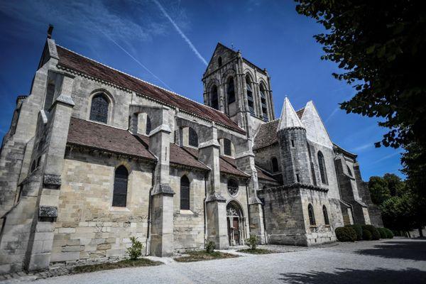 L'église d'Auvers-sur-Oise dans le Val-d'Oise