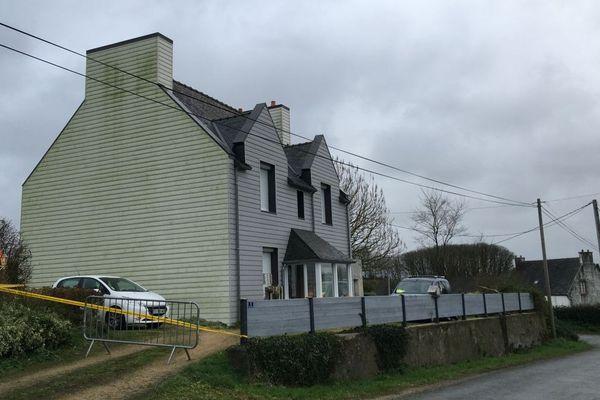 Guiclan (Finistère), la maison où les quatre membres d'une même famille ont été retrouvés morts