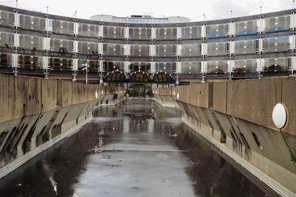 Le palais de justice de Nancy.