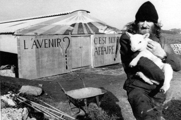 Le bergerie de Plogoff, haut-lieu de la mobilisation contre un projet de centrale nucléaire