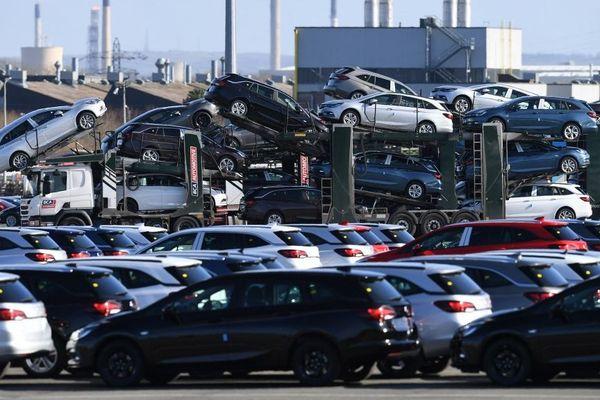 L'usine Vauxhall (Opel) d'Ellesmere Port, en Angleterre, propriété du groupe PSA.