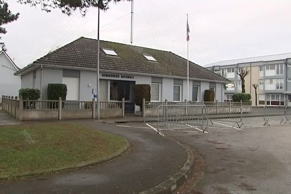 La gendarmerie de Saint-Omer.