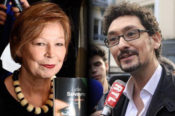 Lydie Salvayre et David Foenkinos