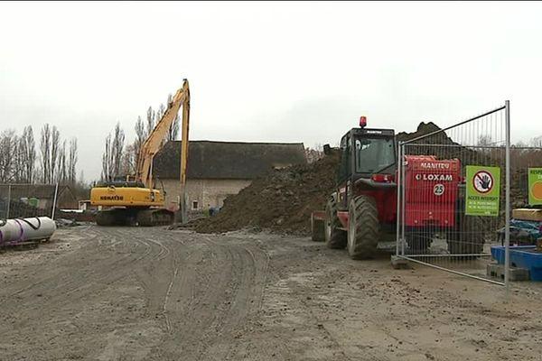 Les travaux ont commencé début septembre sur l'ancien site investi par la société Themeroil.