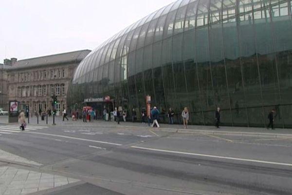 La verrière de la gare de Strasbourg