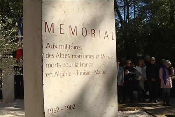 Une cérémonie départementale officielle a eu lieu ce mardi à Valbonne devant le mémorial.