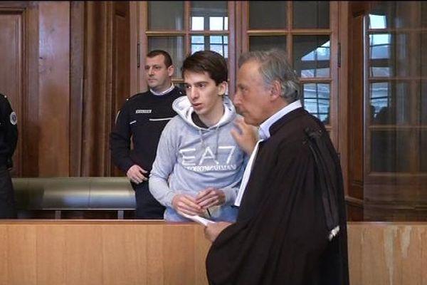 Yacine Sid et son avocat, Maître Uzan