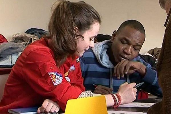 Centre d'accueil de la Mariette - Le Mans : Migrant apprenant