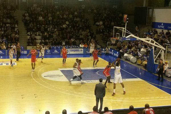 Lors de la rencontre, samedi, à Poitiers.