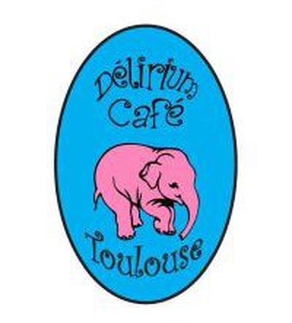 Le logo Délirium Toulouse