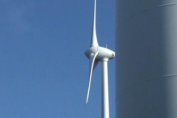 Lozère - les éoliennes - 19 novembre 2012.
