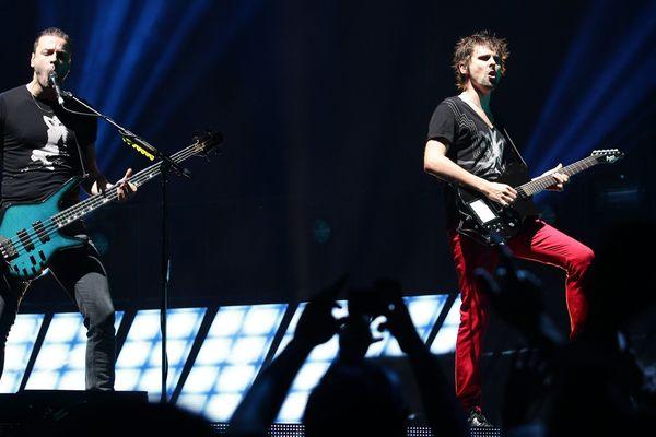 Le groupe Muse en concert à Mexico en 2013