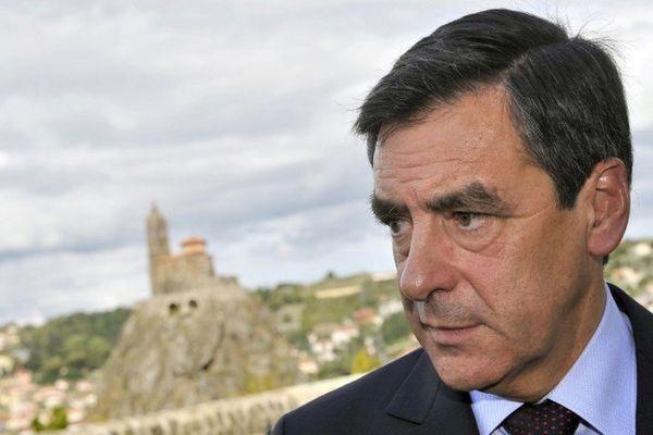 François Fillon lors d'une visite au Puy-en-Velay en 2009, à l'époque où il fut Premier ministre.