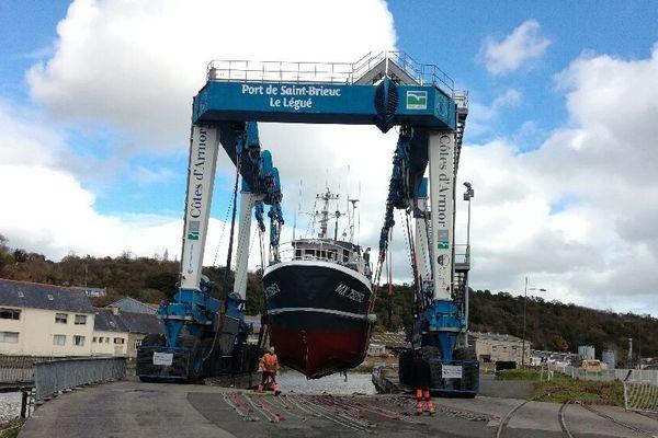 La réparation navale au Port du Légué