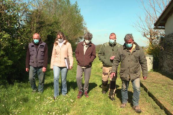 Les habitants du Breuil se sont constitués en collectif pour s'opposer au projet de carrière d'extraction d'argile porté par Terreal