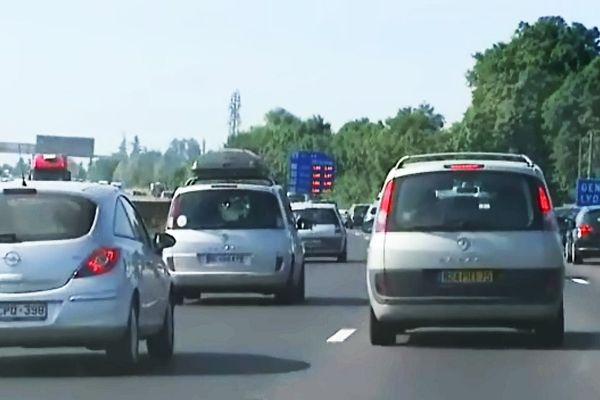 Le trafic est très chargé sur l'A6 (archives)