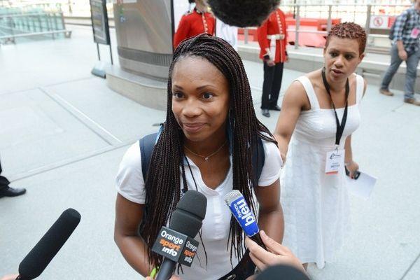 Laura Flessel, quintuple médaillée olympique, dispute les Jeux de Londres 2012