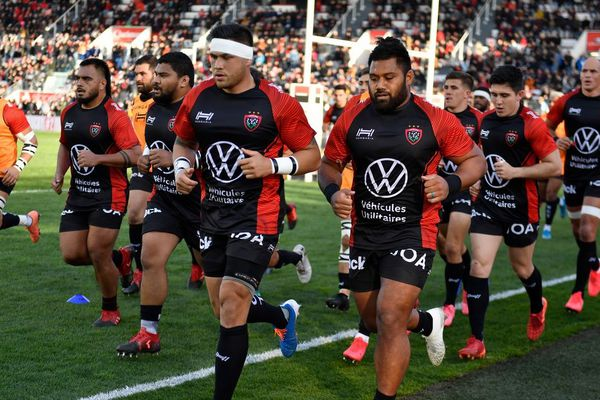 Les joueurs du RC Toulon le 1er mars dernier.
