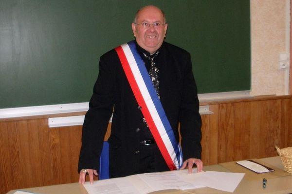 Bernard Viatte maire de Froidefontaine (photo d'archive)