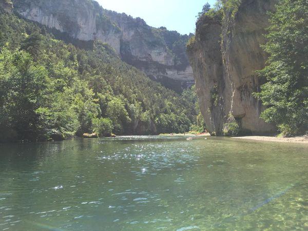 Les gorges du Tarn en canoë...