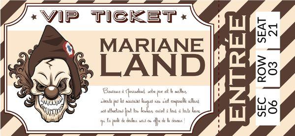 """""""Bienvenue à Mariane Land"""" est l'un des titres phares du nouvel album, disponibles sur toutes les plateformes de téléchargement"""