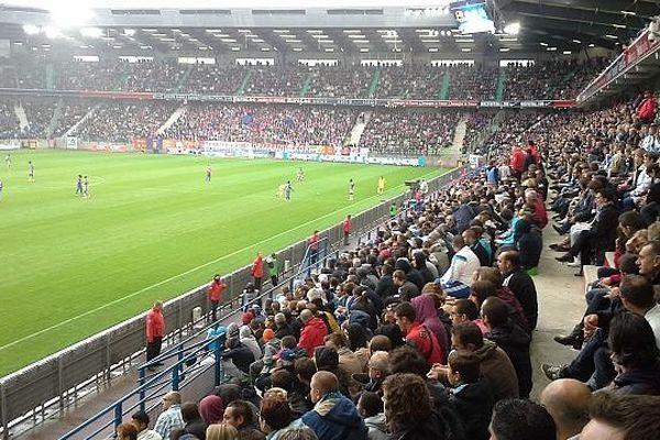 le Stade d'Ornano a battu son record de fréquentation avec 20 500 spectateurs pour voir le choc face à l'OM