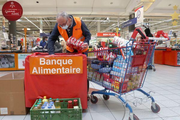 Alors que les demandes d'aides ne cessent d'augmenter, la banque alimentaire organise sa traditionnelle collecte nationale du 27 au 29 novembre 2020.