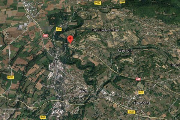 Une femme a trouvé la mort dans un accident sur l'A48 à Voreppe (Isère).