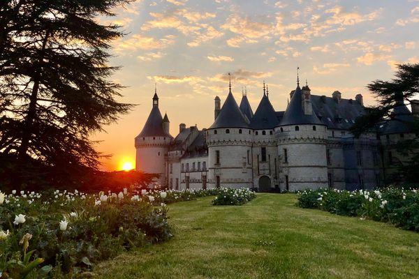 Le Domaine de Chaumont-sur-Loire et ses fameux jardins dans le Loir-et-Cher.