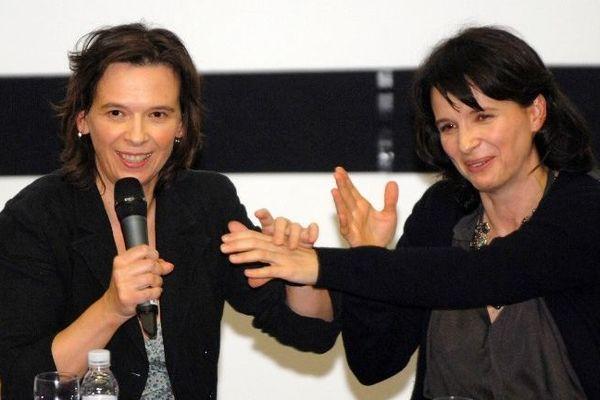 Marion Stalens (à gauche) est la soeur de l'actrice Juliette Binoche