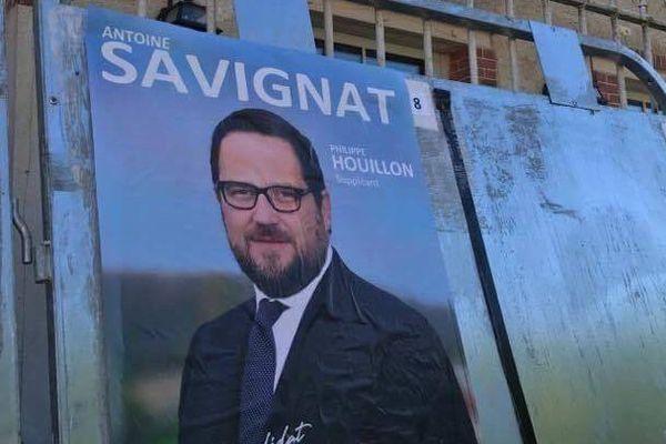 Au premier tour, Antoine Savignat (17,75 %) est devancé par la candidate LREM Isabelle Muller-Quoy (35,93 %).