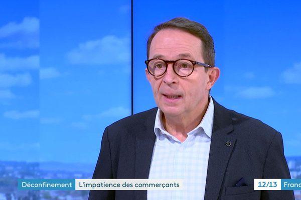 Dominique Roy, président de la CCI du Doubs, était l'invité du journal du 18 novembre 2020