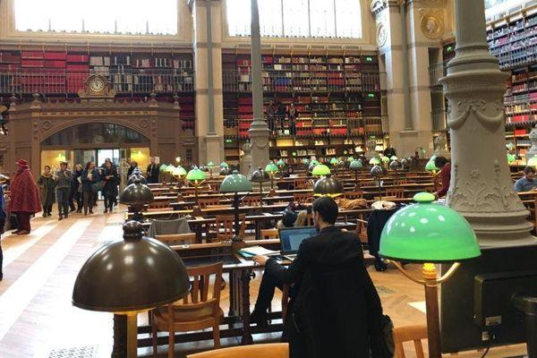 Le site Richelieu, de la Bibliothèque nationale de France.