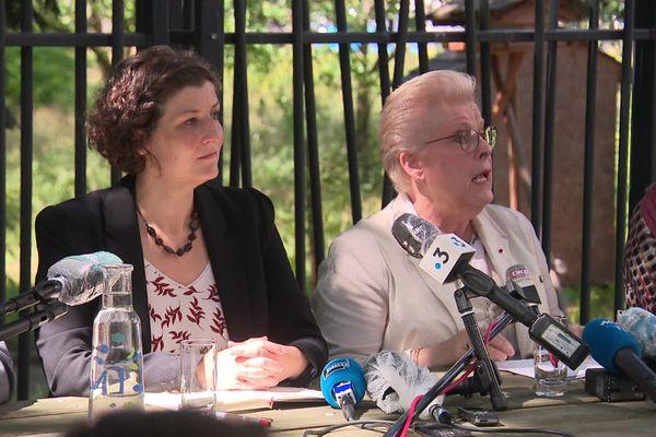 Jeanne Barseghian et Catherine Trautmann ont annoncé qu'elles travailleraient ensemble au sein de la nouvelle équipe municipale