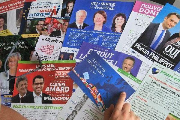 Les programmes électoraux des candidats pour les élections européennes dans la circonscription Est