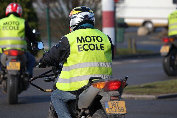 A Angoulême, la cohabitation entre permis moto, auto et poids-lourd sur la même piste pose problème.
