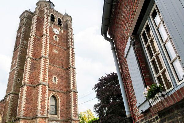 L'église Saint-Etienne de Bersée