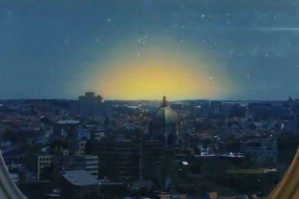 """Le """"teaser"""" d'""""Into The Night"""" montre une mystérieuse explosion dans le ciel de Bruxelles."""