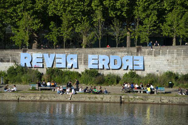 Le public sur les quais de l'Erdre après le 1er confinement en mai 2020