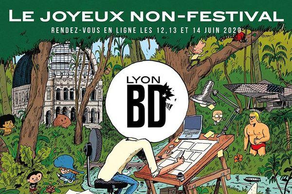 L'affiche du Non-Festival