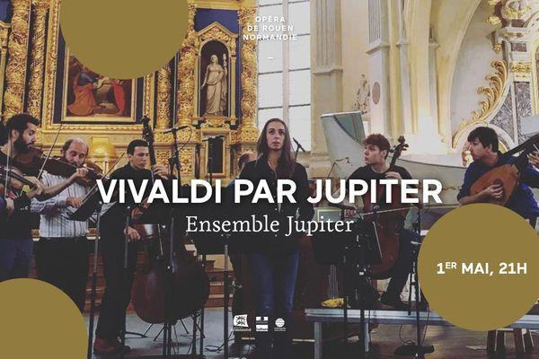 Avec Vivaldi par Jupiter, la génération montante du baroque, emmenée par la mezzo-soprano Lea Desandre, le claveciniste Pierre Gallon et le luthiste Thomas Dunford, nous entraîne dans les fastes de la musique de Vivaldi.