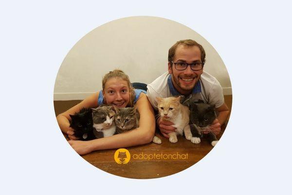 Lise et Edouard sont deux jeunes sarthois passionnés par les animaux qui lancent sur internet le premier site de rencontres avec des chats