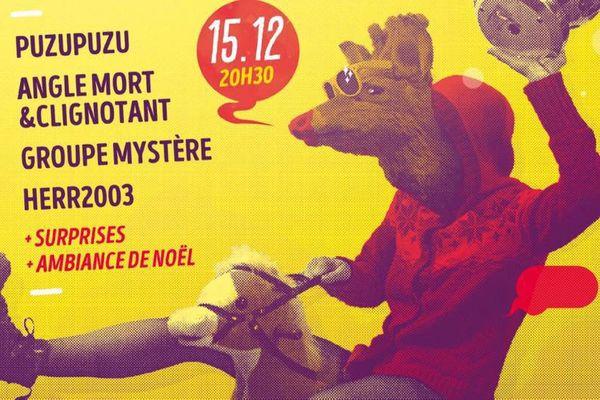 Une affiche réalisée par l'artiste nancéien Olivier Bourgois.