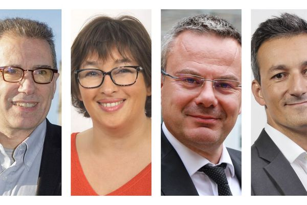 De gauche à droite : Jean-Paul Tapia, Sandrine Tricot, Laurent Brillard et Christophe Chapuis.