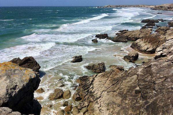 Perdu sur la côte sauvage de la presqu'île de Quiberon (56)