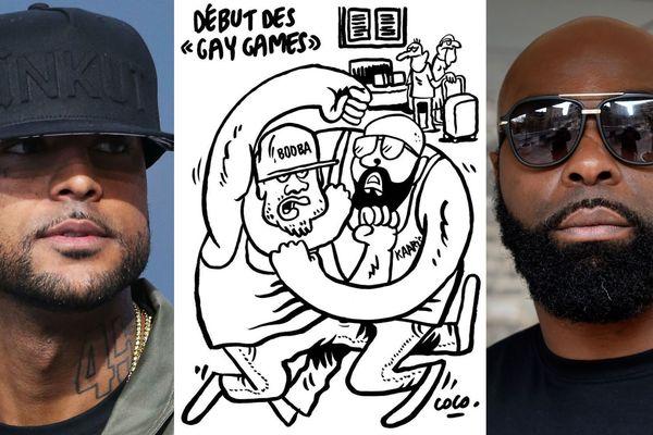 Booba et Kaaris et le dessin de Charlie Hebdo signé Coco.