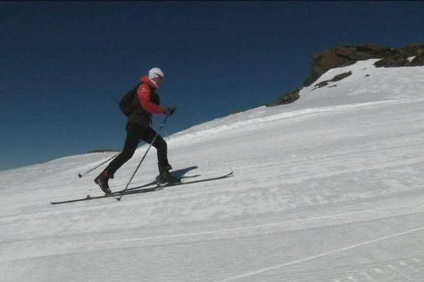 L'aveyronnais de 34 ans s'entraîne tous les jours sur les hauteurs de Val Thorens, station qu'il a découverte il y a 13 ans.