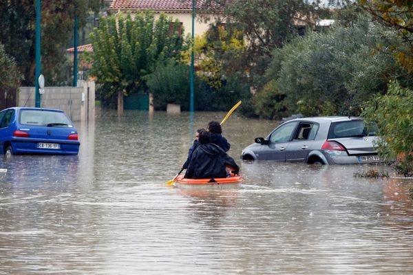 Le Var et les Alpes-maritimes ont été touchés par un violent épisode méditerranéen, le 24 novembre 2019.