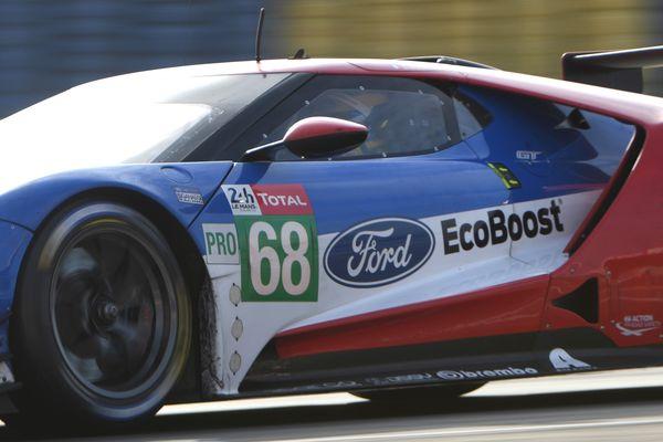 La Ford N.68 de Sébastien Bourdais disqualifiée aux 24 H du Mans 2019