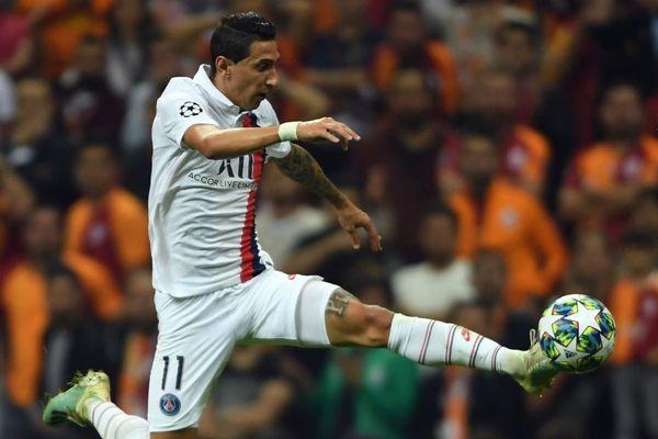 Angel Di Maria, au cours de la rencontre entre le PSG et Galatasaray, le 1er octobre.